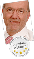 Kostenlose Premium Online Trainings mit Norbert Koliber Top effektiv Experten Webinare