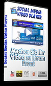 Social Media Videoplayer_200x336 Fans und Traffic sammeln durch Social Media Like und Kommentarbox unter jedem Video