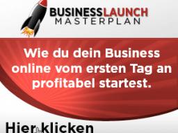 Webinar Business Launch Masterplan