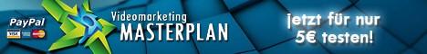 Videomarketing Masterplan, hunderttausende Videozugriffe auf YouTube