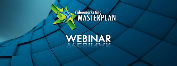 Videomarketing Masterplan kostenloses Webinar über Videomarketing mit Youtube