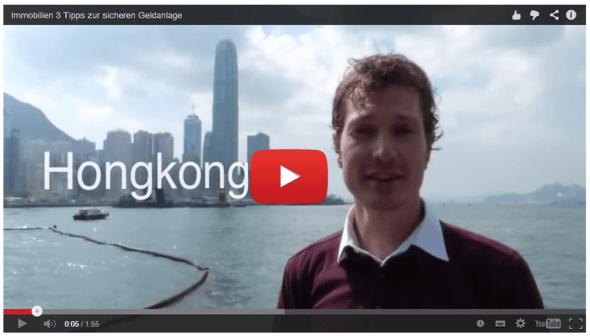 Hongkong Video 2 vor der Skyline von Hongkong mit 3 Tipps