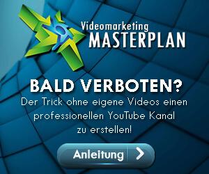Videomarketing Masterplan, Bald verboten? Hier zum kostenlosen Webinar anmelden