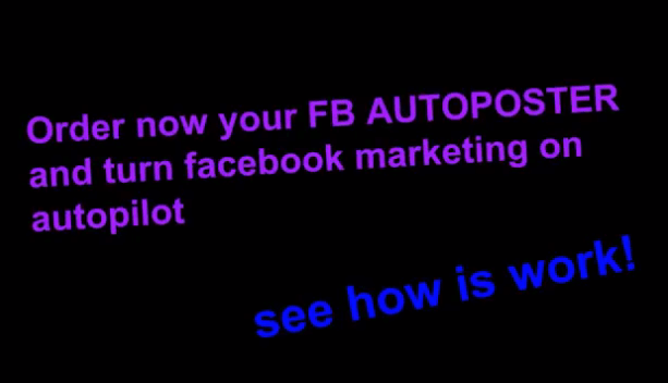 The best AutoPoster for Facebook Groups and Fanpages