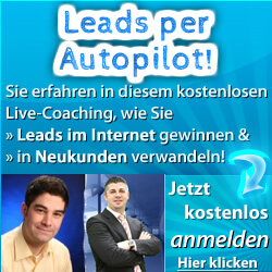Leadmotor Webinarbanner