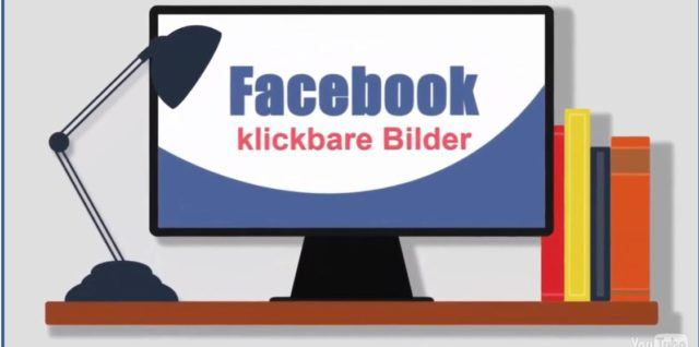 Facebook klickbare Bilder in Facebook Postings