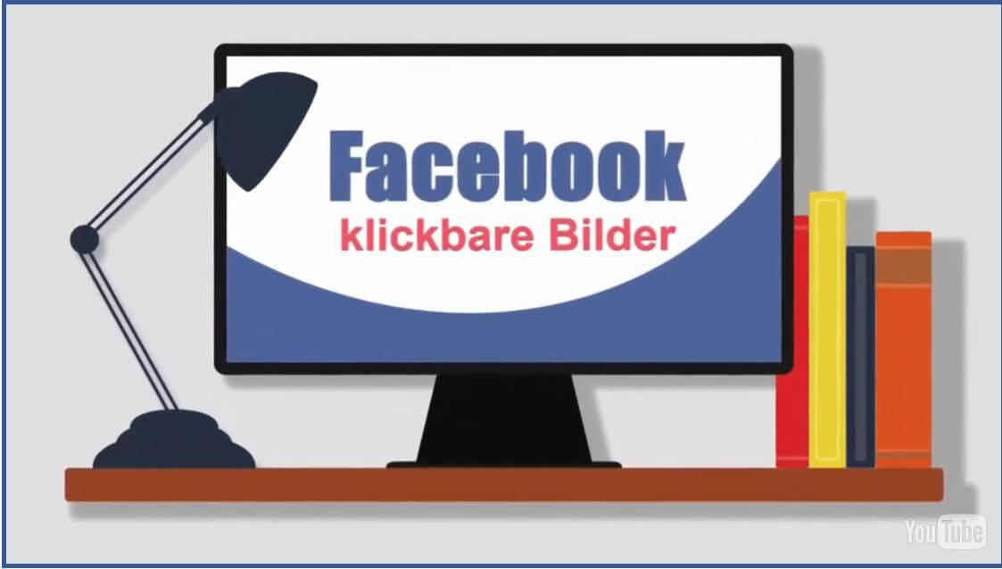 Facebook klickbare Bilder in Facebook Postings